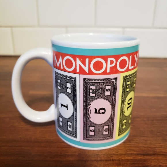 Monopoly Money Mug